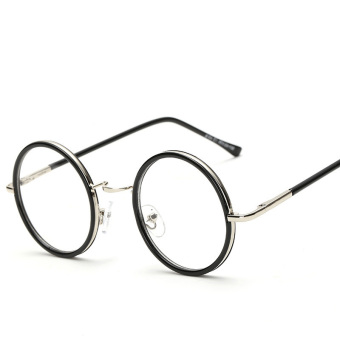 Vintage Round Optical Frame Eye Glasses Frames for Men or Women Eyeglasses Frames Eyewear(color1) - Intl