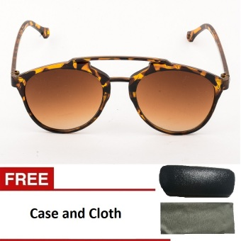 Vintage Summer Dior Style Sunglasses- Brown Price Philippines