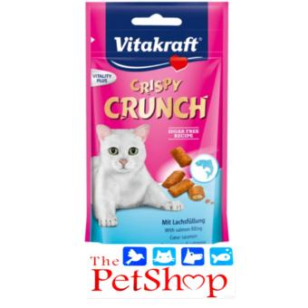 VitaKraft Crispy Crunch 60g Salmon Sugar Free