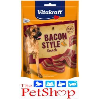 Vitakraft Dog Food 85g Bacon Style Snack