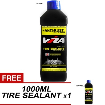 VIZA(R) Premium Tire Tyre Sealant 1L (Bundle of 2 x 1000ML)