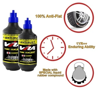 VIZA® Premium Tire Tyre Sealant (350ML) for Motorcycle Bicycle Cars Truck