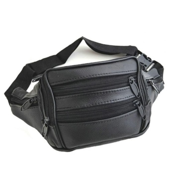 VOYAGE Genu ine Leather Fanny Pack / Waist Bag / Organizer (Classic Style)   - intl Price Philippines