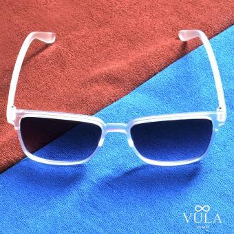 Vula 157 Leandre Unisex Wayfarer Sunglasses Shades (Transparent) - 2