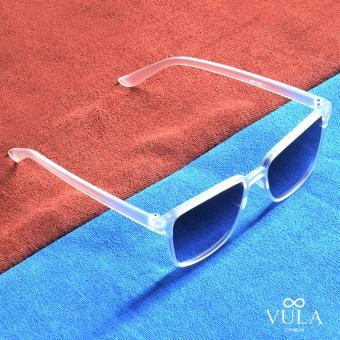 Vula 157 Leandre Unisex Wayfarer Sunglasses Shades (Transparent) - 3
