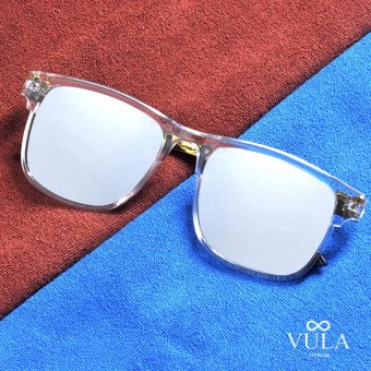Vula Casual Square Womens Sunglasses Shades Eyeglasses 177 (Transparent)