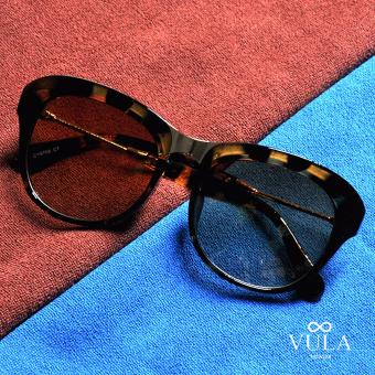 Vula Summer Oversized Women's Sunglasses Shades Eyeglasses 8706 (Multicolor)