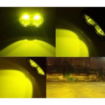 Wall E 4D 20W Motorcycle Led Fog Driving work Light(YELLOW) - 3
