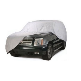 Waterproof Lightweight Nylon Car Cover for SUVs (Gray)