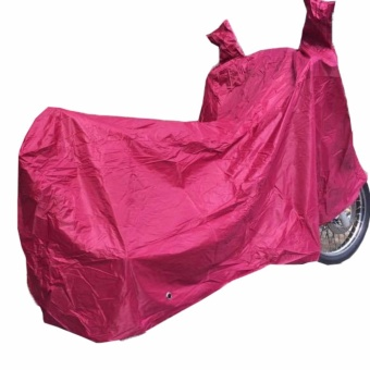 Waterproof Motorcycle Cover for YAMAHA, HONDA, SUZUKI, KAWASAKI(Red) Price Philippines