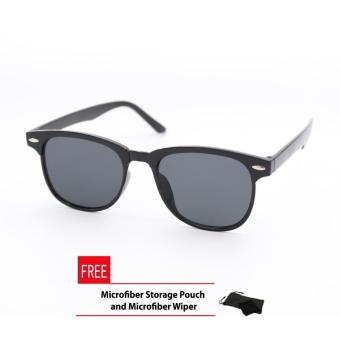 Wayfarer OverSized Flash Lenses Black Flash_721 Straight Design_Unisex
