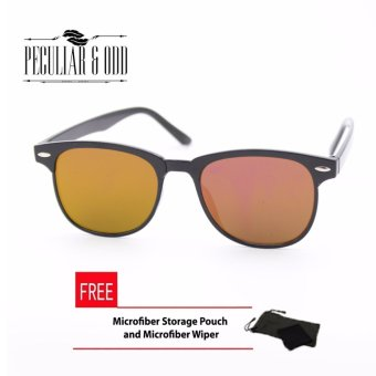 Wayfarer OverSized Flash Lenses Red Flash_721 Straight Design_Unisex