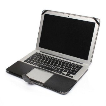"Welink PU Leather Case For Apple Macbook Air 11"" (Black) - 2"