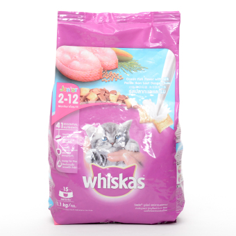Whiskas Junior Dry Food with Milk 1.1kg ( 3 bags / box)