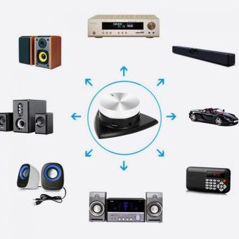 Wireless Bluetooth 4.0 Stereo Volume Adjustable Car Audio Receiver- intl - 3