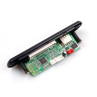 Wireless Bluetooth Speaker MP3 WMA Decoding Board Module Audio AUXCar TF Card Slot FM Radio Display with Remote Control - intl - 4