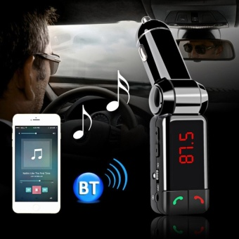 Wireless Bluetooth V2.0 Stereo Car Kit FM Transmitter MP3 USB DiskPlayer
