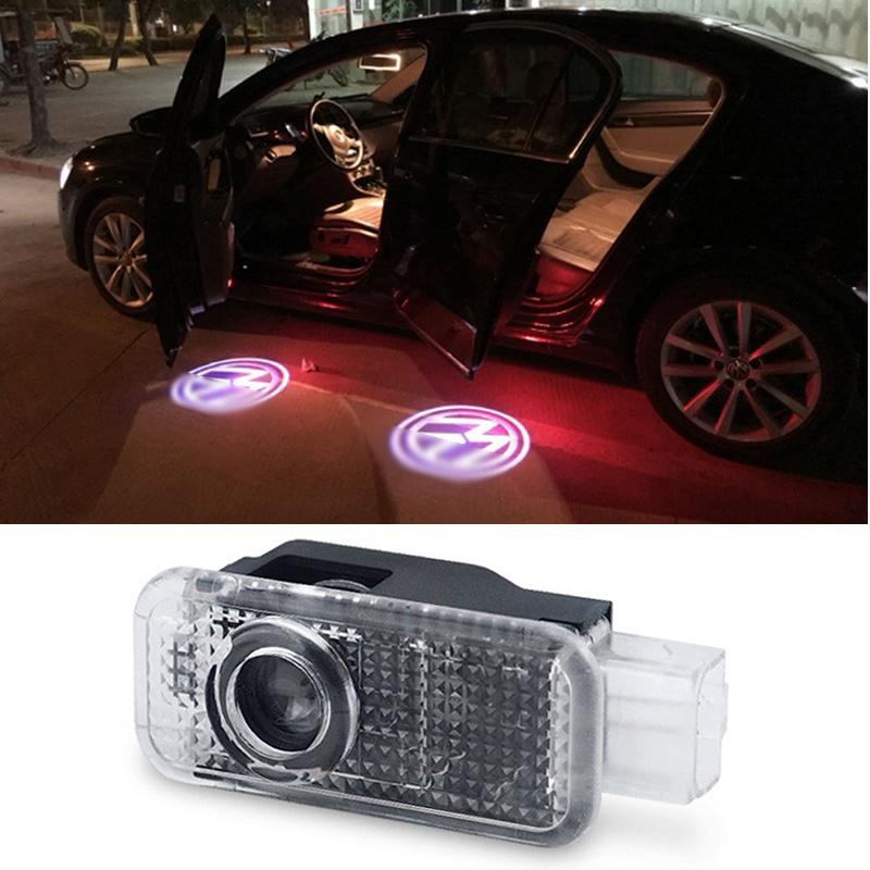 Wireless LED Welcome Logo Car Door Laser Light Courtesy Projector Lamp - intl .