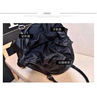 Women Travel Bags Solid Waterproof Oxford Handbag Weekender Bags - 3