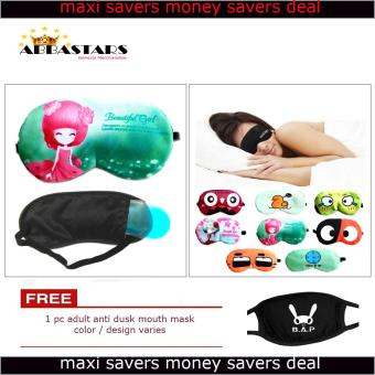 Women's Assorted Sleep Eye Mask with Cooling Warming Pad forMeditation