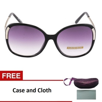 Women's Paris Oversized Sunglasses- Black