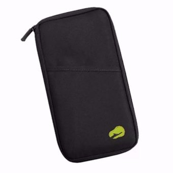 Wrapables Passport and Travel Documents Holder(black)