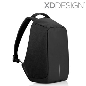 XD Design Bobby Anti Theft Backpack - Red/Black/Grey - intl Price Philippines