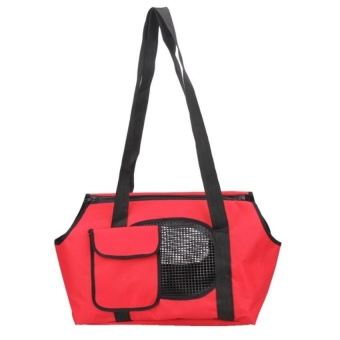 XKP Spring Summer Breathable Pet Carriers For Small Dogs (Red) (S) - intl