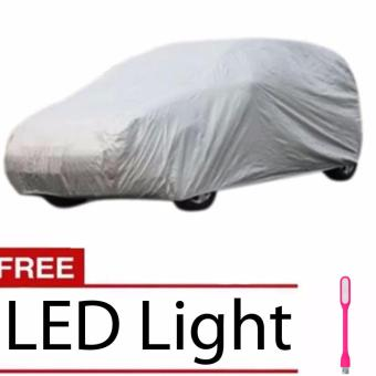 XL 17' Waterproof Scratch proof SUV large Car Cover for 4x4 SportVehicle 5.2M With Free LED Light(Color May Vary) Price Philippines