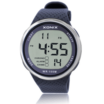 Xonix fashion multi-functional with numbers running watch electronic watch