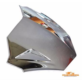 Yamaha Mio WindShield / Visor (Top Cover) Silver (Mirror Finish)