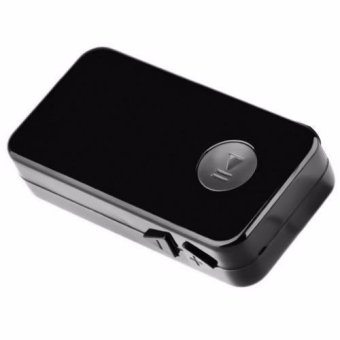 YET-M Car Bluetooth Music Receiver with Stereo Output (Black) - 3