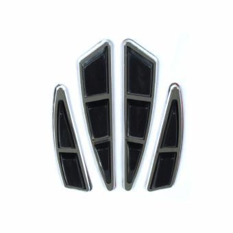 Yh Door Guard Black 4 Pcs/Set