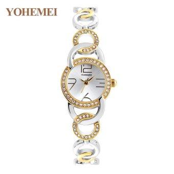 YOHEMEI New Fashion Ladies Watch Watches Luxury Top Brand ElegantWristwatches for Women Rhinestone Quartz Watch 0192 - Gold - intl - 3