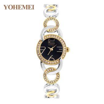 YOHEMEI New Fashion Ladies Watch Watches Luxury Top Brand ElegantWristwatches for Women Rhinestone Quartz Watch 0192 - Gold - intl - 4