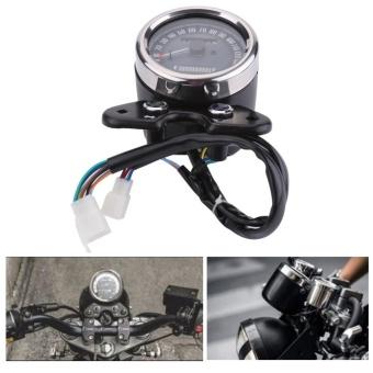 YOSOO Universal Motorcycle Odometer Speedometer Gear DigitalDisplay 9.5cm Mounting Hole - intl - 3