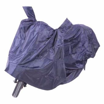 YS104 Thick,Durable and High Quality WaterProof Motorcycle Cover (Navy Blue)
