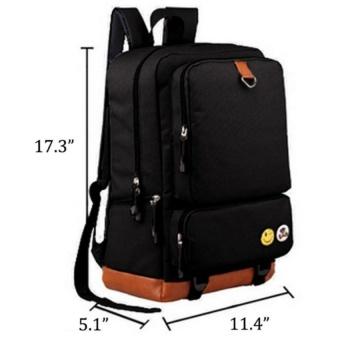 YSLMY Overwatch Luminous Backpack Women Men Rucksack Travel Gym Laptop Bag Schoolbag(Black) - intl - 3