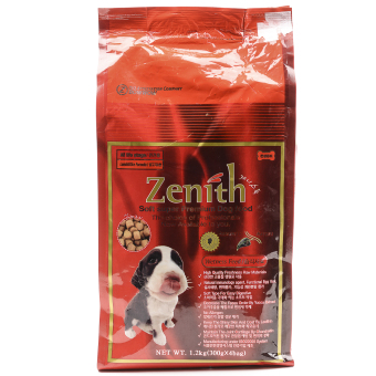 Zenith Regular Lamb and Rice Med/Lrg Breed Dry Dog Food 1.2kg