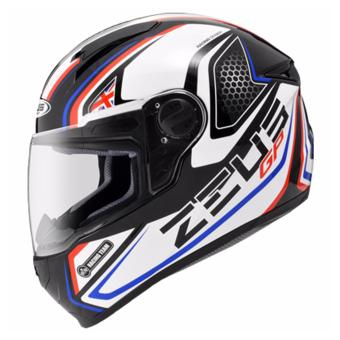 Zeus Full-Face ZS-811 Helmet (Black/AL3Blue)