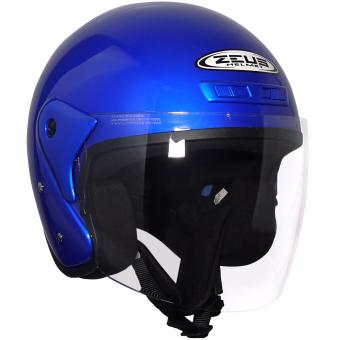 Zeus Open Face ZS-506 Jet Helmet (Blue)