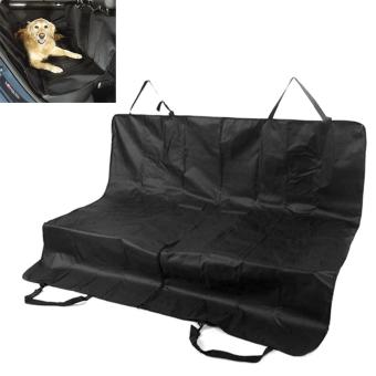 ZIQIAO Car Seat Cover Rear Back Pet Car Mat - Black (150*120cm) - intl