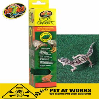 Zoo med Soft Absorbent Eco Carpet (30x60 for 15/20 gallon) For Petsand Reptiles
