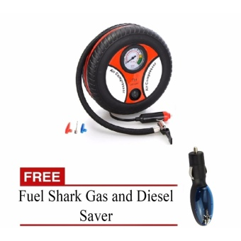 Zover Air Compressor Tire Pump,Portable Electric Mini 12V 260PSICar Auto Tire Inflator with Tire Pressure Gauge with FREE FuelShark
