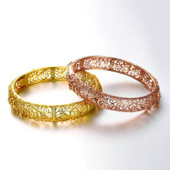 ZUNCLE Good Quality Nickle Free Antiallergic New Fashion Jewelry 24k Gold Plated Bracelets - picture 2