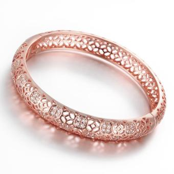 ZUNCLE Good Quality Nickle Free Antiallergic New Fashion Jewelry Rose Gold Plated Bracelets