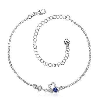 ZUNCLE New Design Large Stock Delicate Handmade Silver Plated Anklet