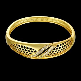 ZUNCLE Nickle Antiallergic 2015 New Fashion Jewelry 18K Gold Plated Bracelets
