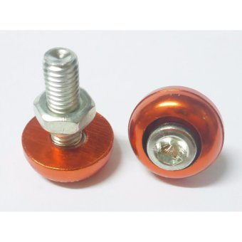ZZ Racing Allen Bolt(6mm)Orange 10pcs